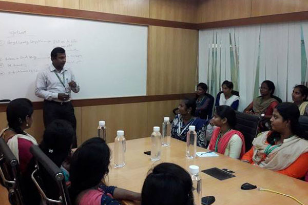 Dept of Computer Application Industrial Visit to Accenture, on 10 Jan 2018